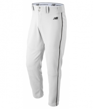 New Balance Men's Charge Baseball Piped Pant White