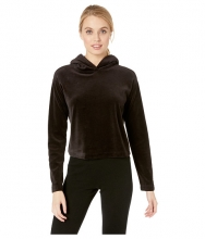 Juicy Couture Velour Hooded Pullover Pitch Black