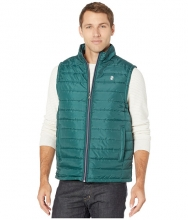 IZOD Quilted Puffer Hunter