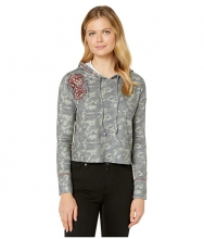 Rock and Roll Cowgirl Pullover Hoodie 48H3163 Camo