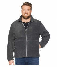 White Sierra Plus Size Mountain Jacket Charcoal Heather