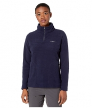 Columbia Canyon Pointtrade Sherpa Pullover Dark Nocturnal