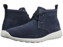 GBX Amaro Navy Perforated Suede