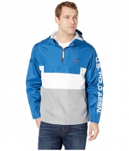 US POLO ASSN Color Block Windbreaker BlueWhite