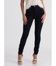 CheapChic All Curves High-waisted Skinny Jeans Dkblue