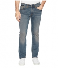 US POLO ASSN Slim Straight Stretch Denim Jeans in Blue Blue
