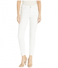 Vintage America High-Rise Skinny Jeans in White White