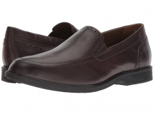 Hush Puppies Shepsky Slip-On Dark Brown Leather