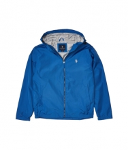 US POLO ASSN Windbreaker Small Logo BlueWhite