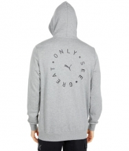 PUMA Only See Great Hoodie Medium Gray Heather