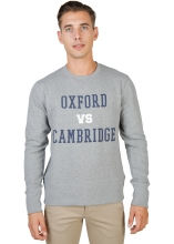 Oxford University Oxford-Fleece-Crewneck GREY