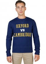 Oxford University Oxford-Fleece-Crewneck BLUE