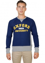 Oxford University Oxford-Fleece-Raglan BLUE