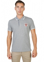 Oxford University Queens-Polo-Mm GREY