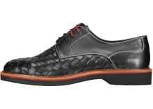 London Brogues Branson Shoes In Black Black